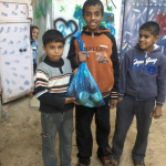 Palestinian Families in Gaza Receive Locally-produced Food Packages