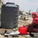Gaza, a year on from Operation Protective Edge: Water