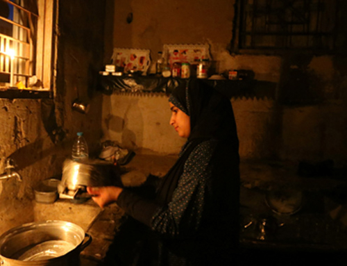 The electricity situation overshadows everything in Gaza