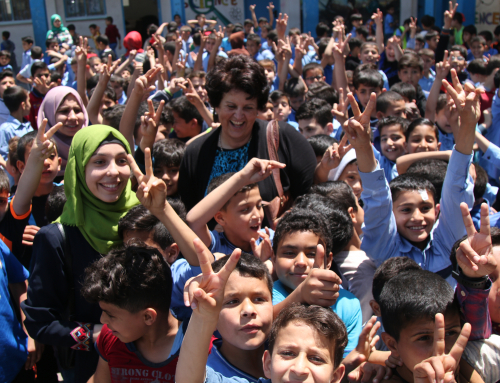 Zam Zam Water Joins MECA's Maia Project to Bring Water to Gaza Schoolchildren