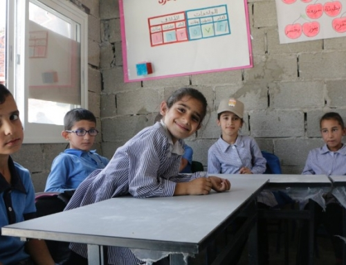 With bricks — not metal — Palestinians rebuild school demolished by Israel