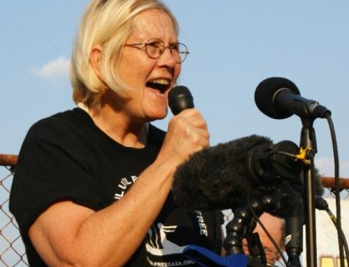Berkeley, CA: Col. Ann Wright: Gaza Freedom Flotilla, BDS, Banned From Israel