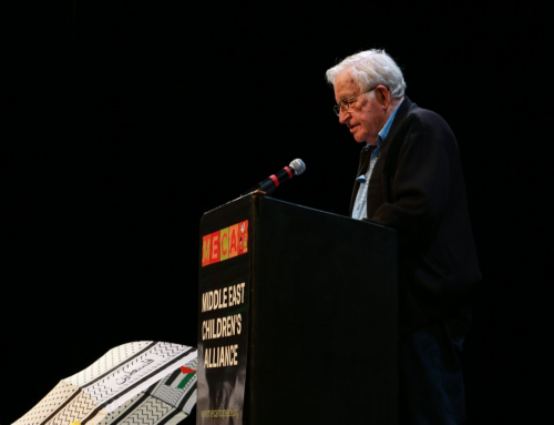 Noam Chomsky dissects American politics, Israeli-Palestinian conflict during Oakland Tech event