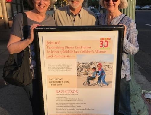 Benefit Dinner in Oakland Raises Funds for MECA's work