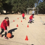 Girls' Basketball for Refugees