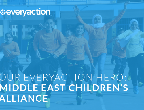MECA selected as the EveryAction hero