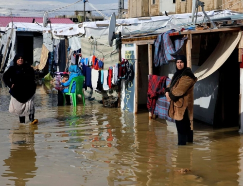 Extreme winter weather in Syria leaves 15 displaced children dead