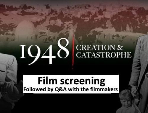 "Berkeley, CA: Film screening ""1948: Creation & Catastrophe"""