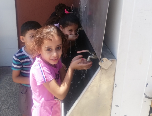 Visiting Schools in Gaza