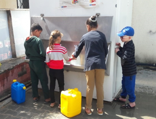 Providing Clean Water to Families in Gaza During COVID-19 Emergency