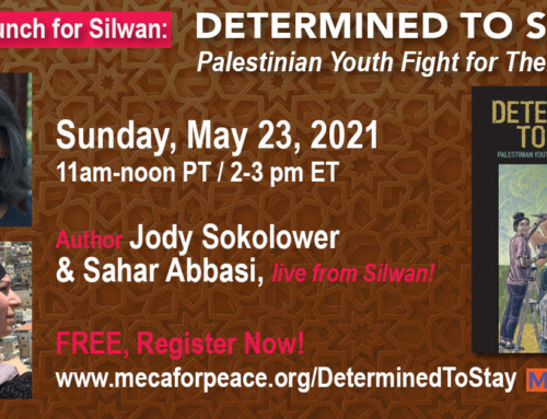 """VIDEO: """"Determined to Stay: Palestinian Youth Fight for Their Village"""" Virtual Book Launch!"""