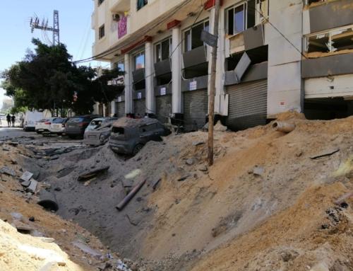 No Longer My Familiar Streets: Gaza Diary